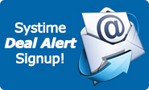 Sign up for Systime Deal Alerts