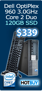 Dell OptiPlex 960 Bundle with 19in LCD