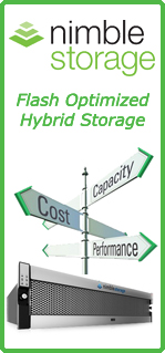 Nimble Storage Hybrid Storage Solutions